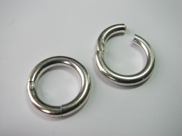 16 S. S. Round Circle Clasp 21 mm OD