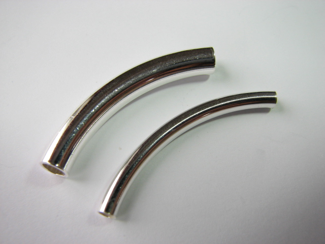 21 S. S.Curved Tube Plain 3 x 35 mm