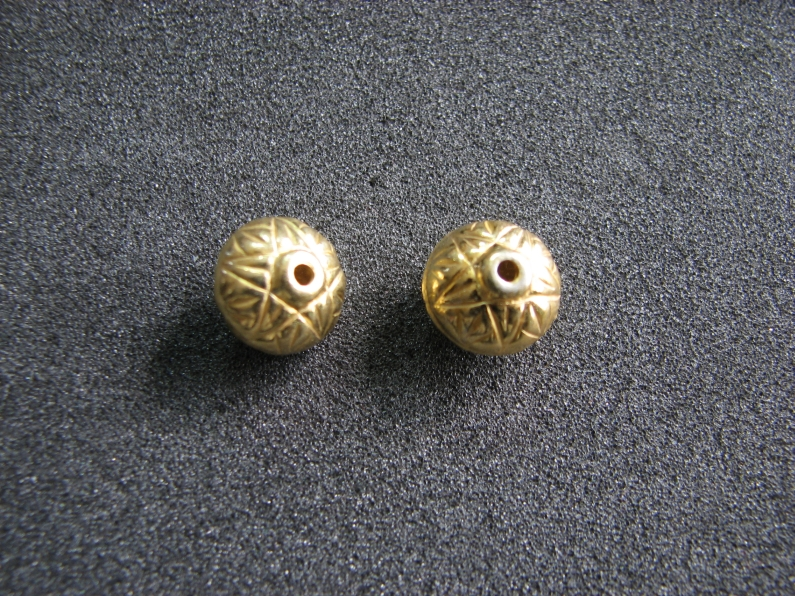 Vermeil Bead 028 Spacer Bead